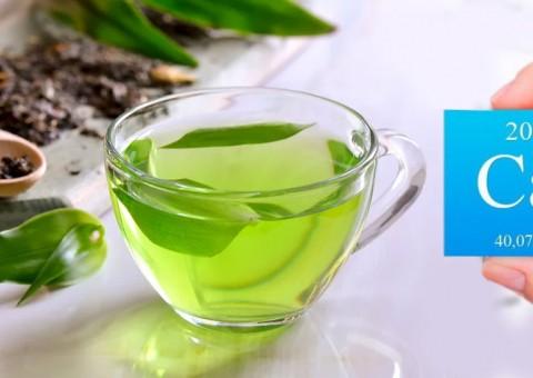 Зеленый чай вымывает кальций?