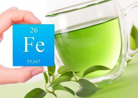 Зеленый чай вымывает железо?