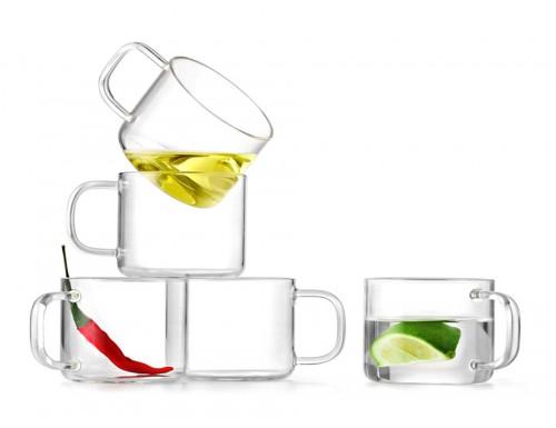 Чашки стеклянные Samadoyo 150 мл (2 шт)