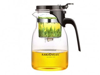 Teapot with the Kamjove K-205 button of 900 ml