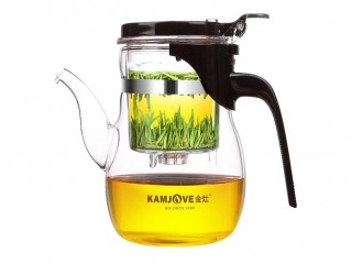 Teapot with the Kamjove K-206 button of 600 ml