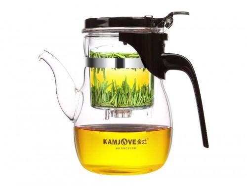 Чайник заварочный с кнопкой Kamjove K-206 600 мл