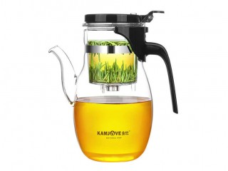 Teapot with the Kamjove K-207 button of 900 ml