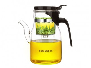 Teapot with the Kamjove K-208 button of 900 ml