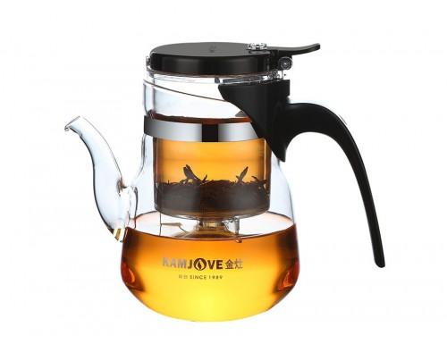 Чайник заварочный с кнопкой Kamjove TP-853 600 мл
