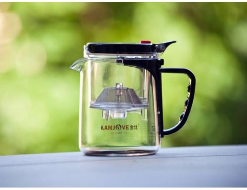 Чайник 350 мл KAMJOVE GUNFU TEA POT ТР-735 + мерная ложка