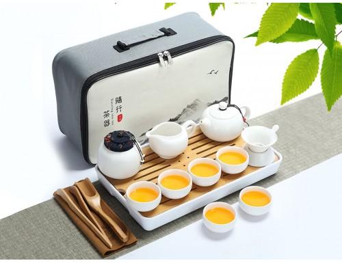 Чайный набор Гунфу Ча дорожный из 15 предметов