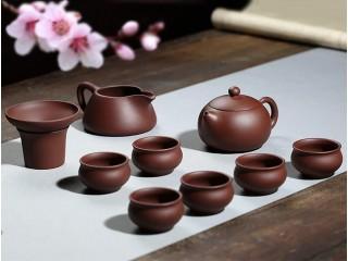 Чайный набор Гунфу Ча из 9 предметов (исинская глина)