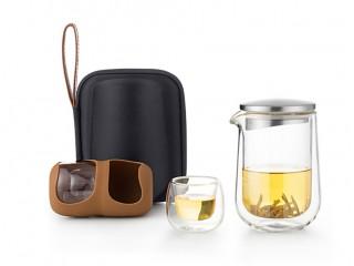Дорожный набор для чаепитий Samadoyo L005X 4 пиалы