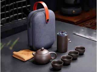 Дорожный набор с чайницей