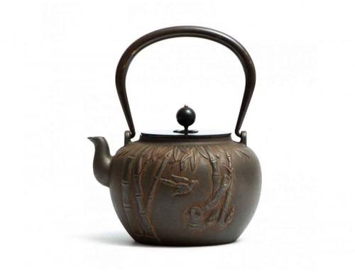 Чайник чугунный Бамбуковый Лес 1200 мл