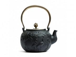 Чайник чугунный Журавли 1400 мл