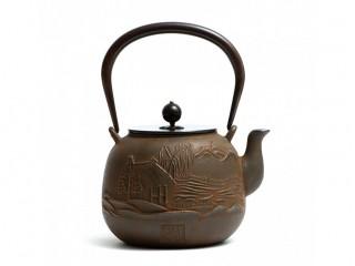 Чайник чугунный Пейзаж 1200 мл