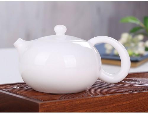 Чайник заварочный фарфоровый белый 180 мл