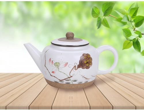 Чайник заварочный керамический 220 мл Лотос