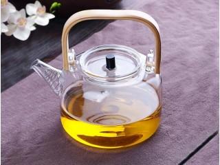 Heat-resistant glass teapot 1200 ml
