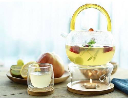 Чайник из жаропрочного стекла, 780 мл