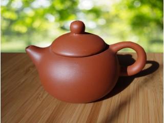 Чайник из красной глины, 130 мл