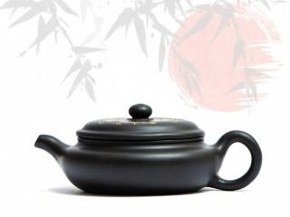 Исинский чайник Бянь Фан Гу Хэй Ни 160 мл