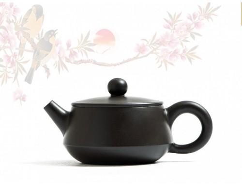 Исинский чайник Бянь Пяо Да Коу Хэй Чжу Ни 100 мл
