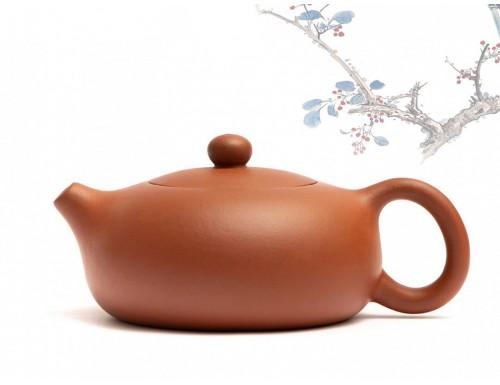 Исинский чайник Бянь Си Ши Чжу Ни 200 мл