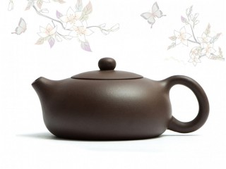 Исинский чайник Бянь Си Ши Цзы Ша с гнездом 200 мл