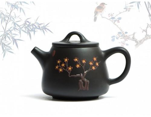 Исинский чайник Гао Ши Пяо Хэй Чжу Ни 200 мл