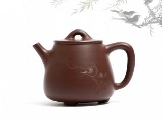 Исинский чайник Гао Ши Пяо Цзы Чжу Ни 170 мл