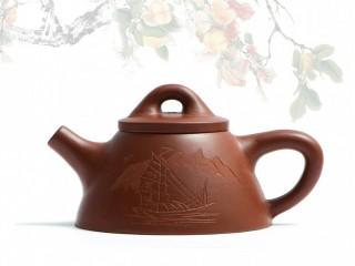 Исинский чайник Ши Пяо Ба Ван Да Хун Пао Парус 140 мл