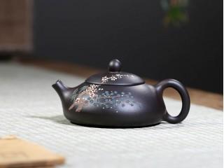 Исинский чайник Ши Пяо Дун По Черное золото 180 мл