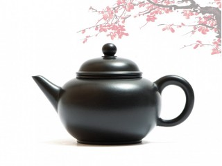 Исинский чайник Шуй Пин Хэй Чжу Ни 190 мл