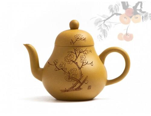 Исинский чайник Сы Тин Дуань Ни Цветение Сливы 180 мл