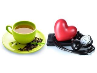 Green tea and pressure