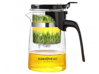 Teapot with the Kamjove K-201 button of 500 ml