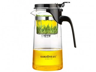 Teapot with the Kamjove K-202 button of 750 ml