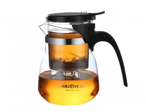 Чайник заварочный с кнопкой Kamjove TP-833 600 мл