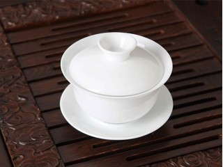 Gaiwan porcelain white 130 ml