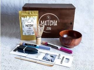 Набор чая Матча MAXI BOX белый