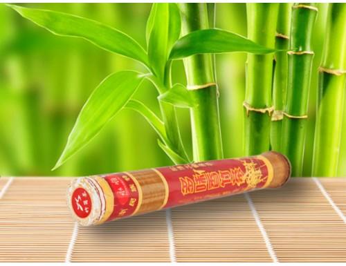 Шу пуер в стеблі бамбука, 200 г