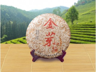 "Shu Puer palace ""Golden Buds"" Little pancake, 100 g, 2009"